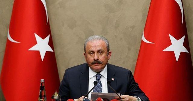 TBMM Başkanı Mustafa Şentop'tan adaylık açıklaması