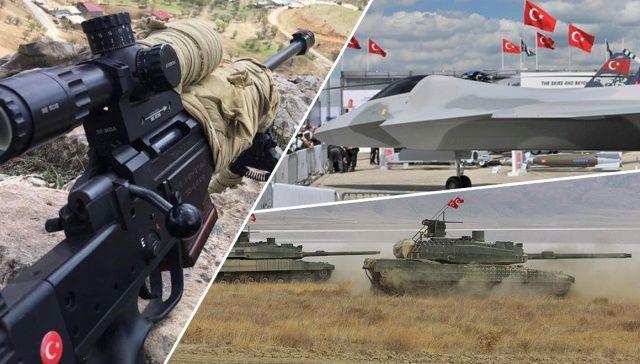 Türkiye'nin Yerli Üretim Milli Silahları