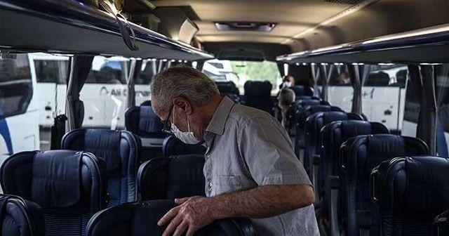Van'da izolasyon kurallarına uymayan otobüs şoförü 12 kişiye virüs bulaştırdı