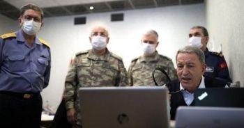 Bakan Akar'dan 'Pençe-Kaplan Operasyonu' açıklaması: İnşallah başarılı bir şekilde bu operasyonu da sonlandıracağız