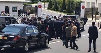 Cumhurbaşkanı Erdoğan Cuma namazını İstanbul'da kıldı