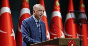 Cumhurbaşkanı Erdoğan: Kısa çalışma ödeneğini 1 ay daha uzatıyoruz