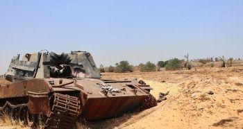 Hafter milisleri El-Fil petrol sahasını basarak üretimi durdurdu