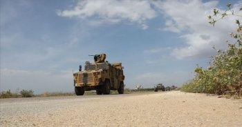 İdlib'deki M4 kara yolunda 14'üncü Türk-Rus kara devriyesi icra edildi