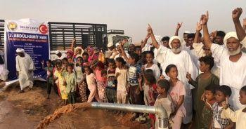 İhlas Vakfı Sudan'da 2. Abdülhamit Han su kuyusunu hizmete açtı