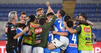 Juventus'u penaltılarla deviren Napoli kupanın sahibi oldu