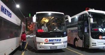 Kısıtlamanın kalkmasıyla şehirler arası otobüs seferleri başladı
