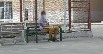 Korona virüslü öğrenciler ayrı okulda sınava girdi