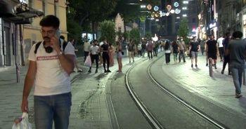 Maçka Parkı ve Taksim'de dikkat çeken yoğunluk