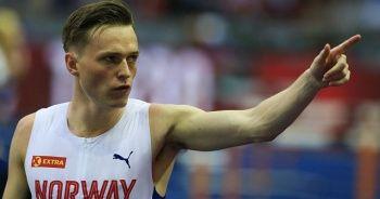 Norveçli atlet Warholm'dan 300 metre engellide yeni dünya rekoru