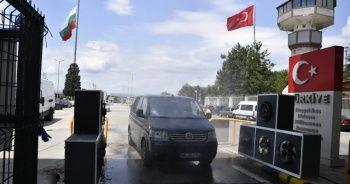 Sınır kapılarına Kovid-19 önlemi: Fanlı dezenfektan üniteleri kuruldu