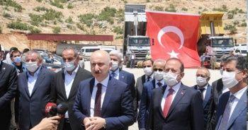 Ulaştırma ve Altyapı Bakanı Karaismailoğlu: Şırnak'a 18 yılda 5 milyarın üzerinde yatırım yaptık