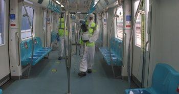 Yüksek Hızlı Trenler ve Marmaray vagonları her gün dezenfekte ediliyor