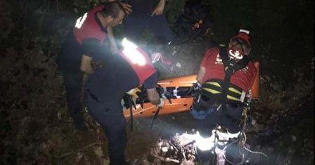 50 metre yükseklikten dereye düşen yaşlı adam öldü