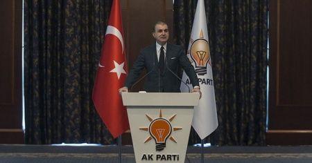AK Parti Sözcüsü Çelik'ten ABD'deki protestolarla ilgili açıklama