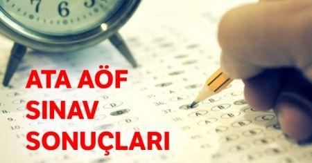 ATA AÖF sınav sonuçları açıklandı mı ÖĞREN! Atatürk Üniversitesi Açıköğretim Fakültesi OBS sınav sonucu sorgula