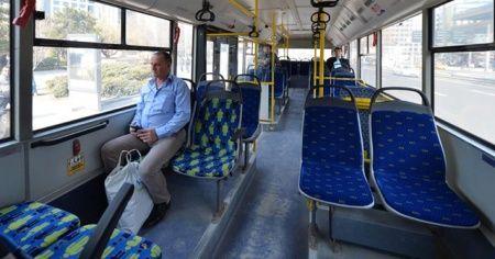 Başkentte toplu taşıma araçlarına normalleşme düzenlemesi