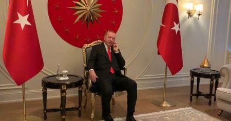 Cumhurbaşkanı Erdoğan, komuta kademesi ile telefonda görüştü