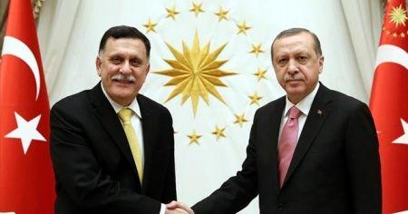 Cumhurbaşkanı Erdoğan, Serrac'ı kabul ediyor