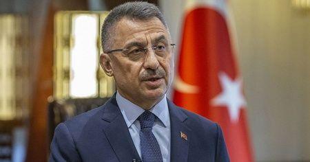Cumhurbaşkanı Yardımcısı Oktay, Güney Kıbrıs'ta camiye yönelik saldırıyı lanetledi
