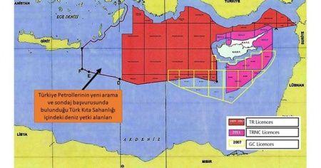 Bakanlık, yeni ruhsat sahalarını gösteren haritayı paylaştı