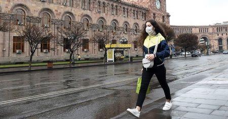 Ermenistan'da 'son 24 saatte en yüksek Kovid-19 vakası' tespit edildi