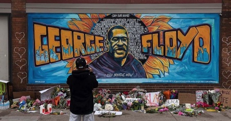 George Floyd için ikinci cenaze töreni düzenlendi