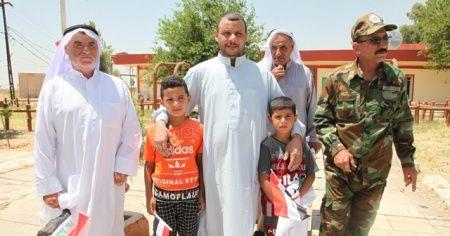 Irak'ta DEAŞ tarafından kaçırılan 3 sivil kurtarıldı