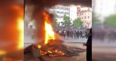 Irkçılık karşıtı gösteriler Fransa'ya sıçradı