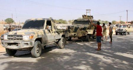 Libya ordusu, Vişke beldesini Hafter milislerinden kurtardı