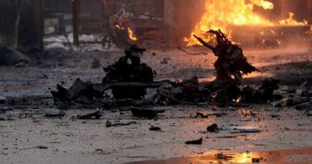 """MSB: """"YPG/PKK'nın Resulayn'da düzenlediği bombalı saldırıda 8 sivil yaralandı"""""""