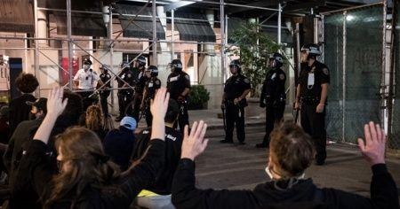 New York'taki protestolarda 250'den fazla kişi tutuklandı