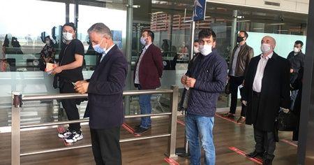 Sabiha Gökçen Havalimanı'ndan ilk uçuş yapıldı