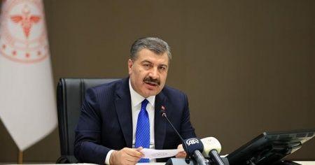 Sağlık Bakanı Koca, AB büyükelçilerine Türkiye'nin Kovid-19 mücadelesini anlattı