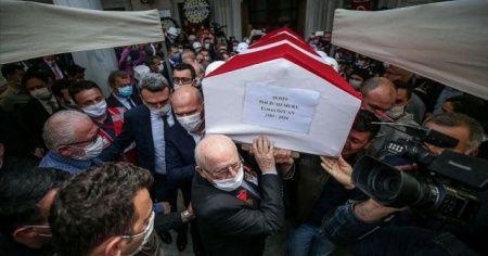 Şehit polis memuru Erman Özcan son yolculuğuna uğurlandı