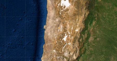 Şili'de 6.8 büyüklüğünde deprem