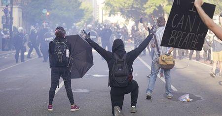 Washington'da gösteriler nedeniyle sokağa çıkma yasağı başladı