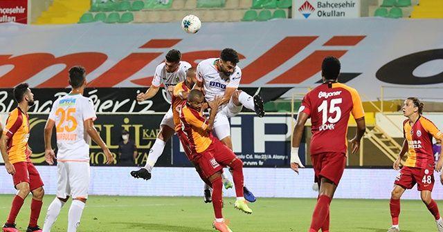Alanyaspor: 4 Galatasaray: 1 maç sonucu