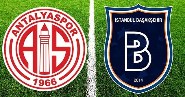 Antalyaspor - Başakşehir Maçı Canlı İzle