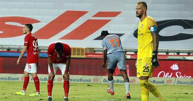 Antalyaspor'un 11 maçlık yenilmezlik serisi sona erdi