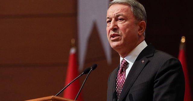 Bakan Akar, Arnavutluk Savunma Bakanı Xhaçka ile görüştü