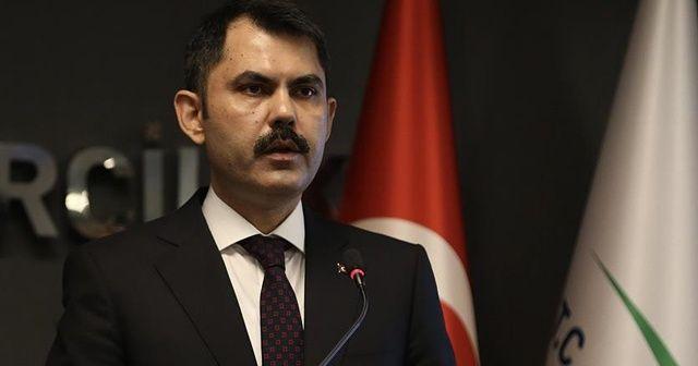 Bakan Kurum'dan Kanal İstanbul Projesine ilişkin iddialara cevap