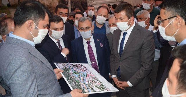 Bakan Kurum: 'Pazarlar'ı yeniden inşa edeceğiz'