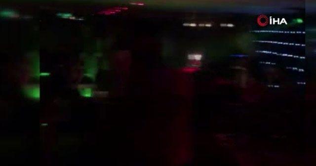 Bebek'teki yat partisine polis baskını