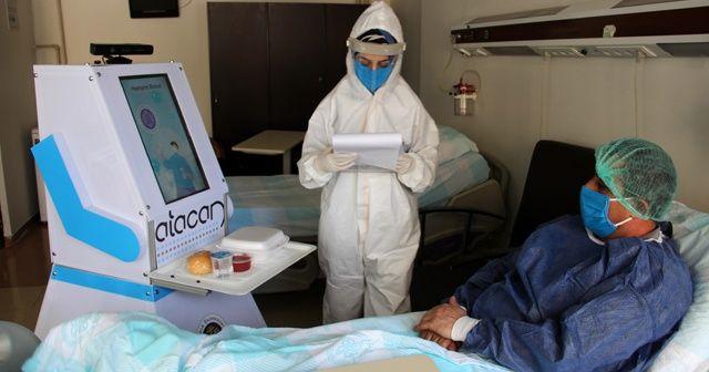 Covid hastalarının yeni bakıcısı robot hemşire 'Atacan'