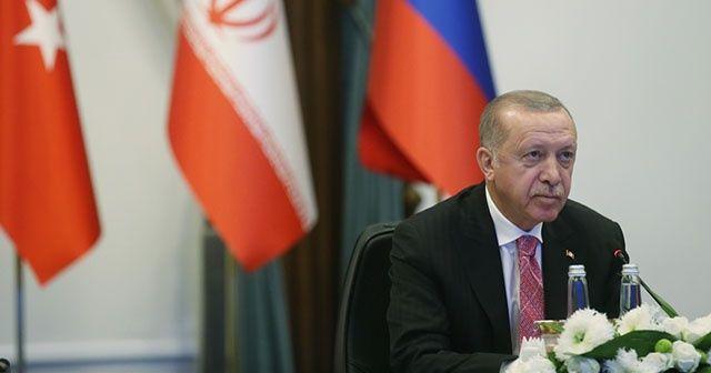 Cumhurbaşkanı Erdoğan'dan 'Suriye' mesajı!
