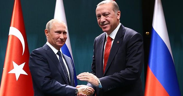 Cumhurbaşkanı Erdoğan,  Putin'le telefonda görüştü