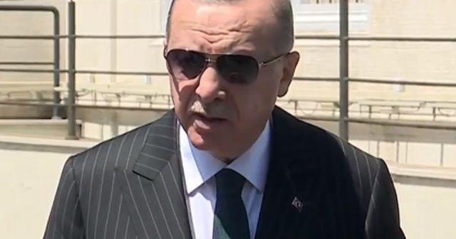 Cumhurbaşkanı Erdoğan: Patlamada yaralı sayısı biri ağır olmak üzere 74 ve vefat sayısı da 2