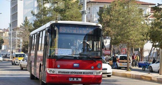 Diyarbakır'da 15 Temmuz'da toplu ulaşım ücretsiz