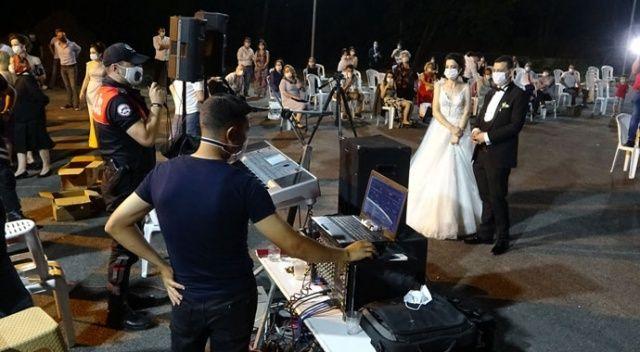 Düğün polisi devrede
